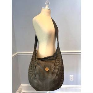 Authentic Vintage Fendi Hobo Crossbody Bag